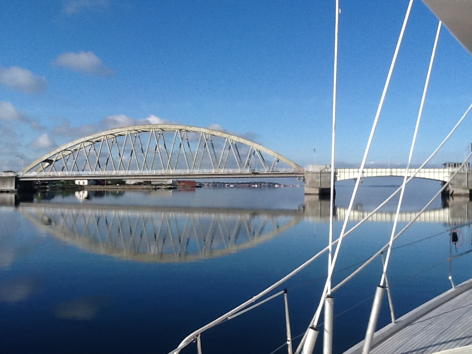 Aggersundbroen set fra øst